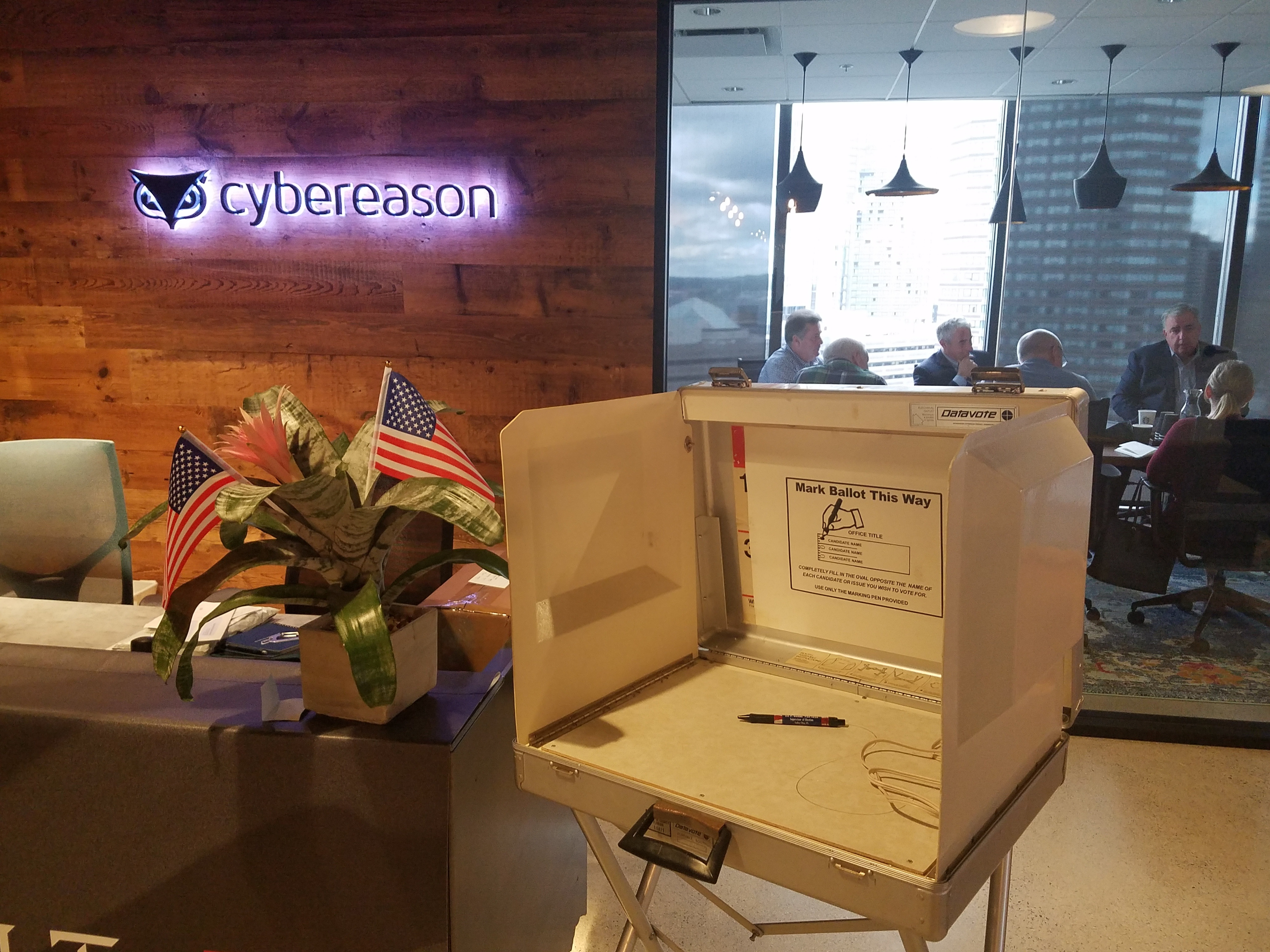 Cybereason election security hack