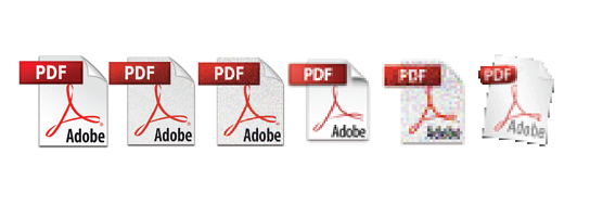 Altered PDF icons