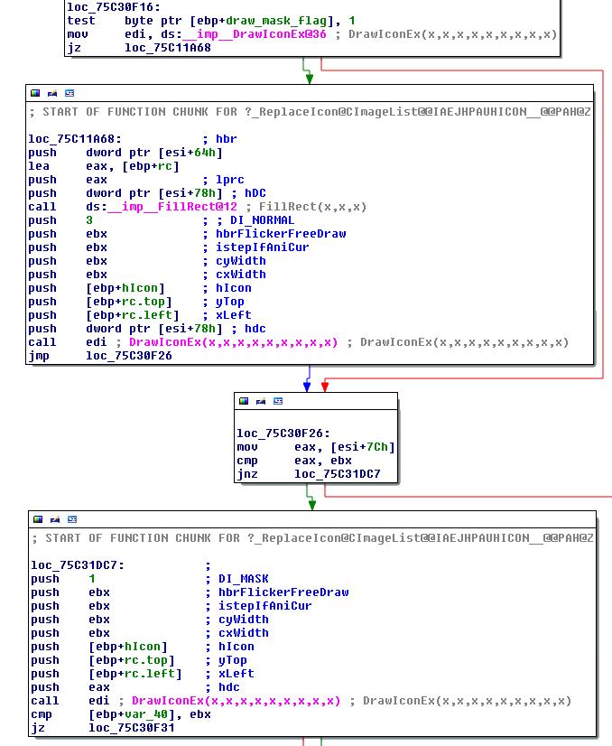 DrawlIconEx example 2