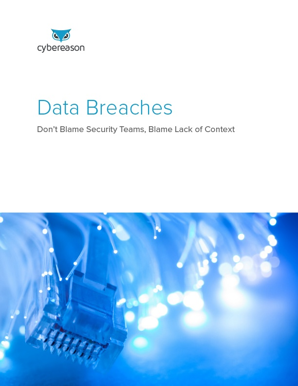 Data Breaches: Don't Blame Security Teams, Blame Lack of Context