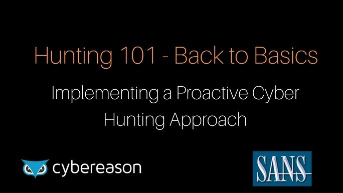 Hunting 101 – Back to Basics