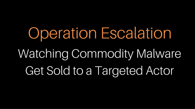 Operation Escalation