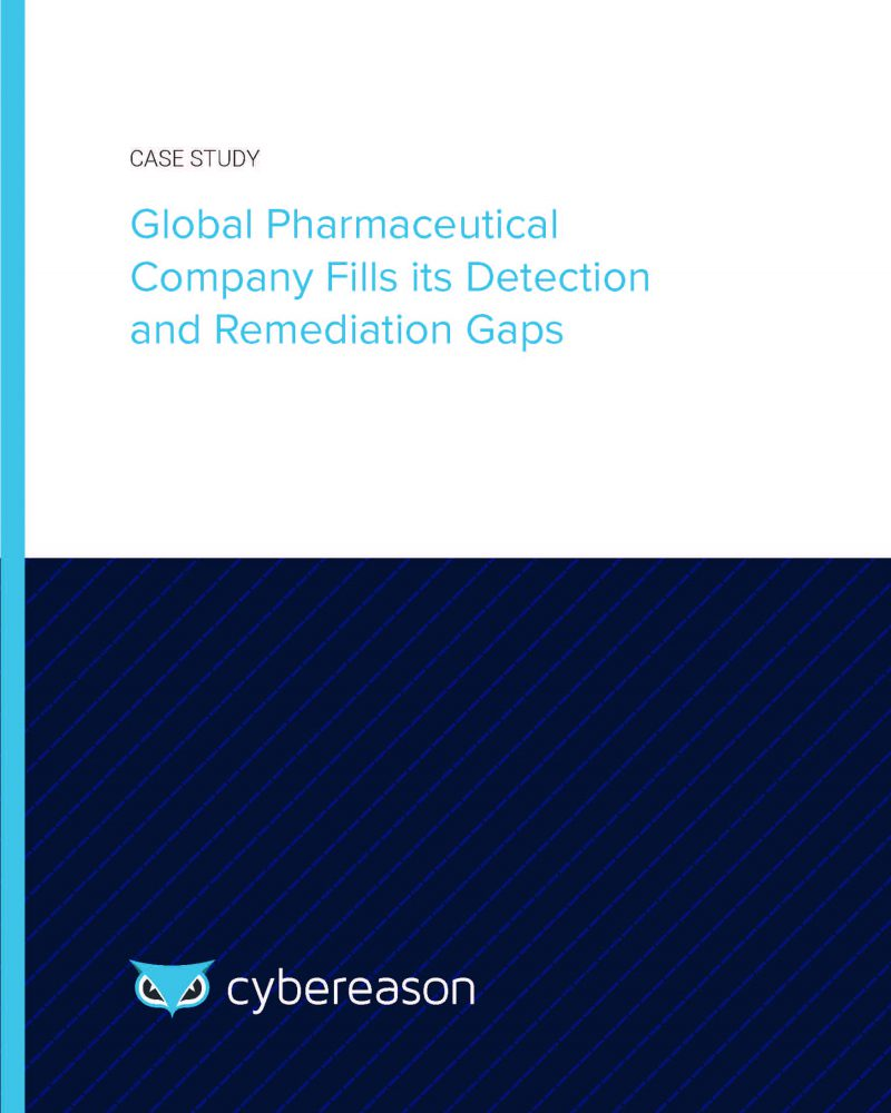 Global Pharmaceutical Company Fills its Detection and Remediation Gaps