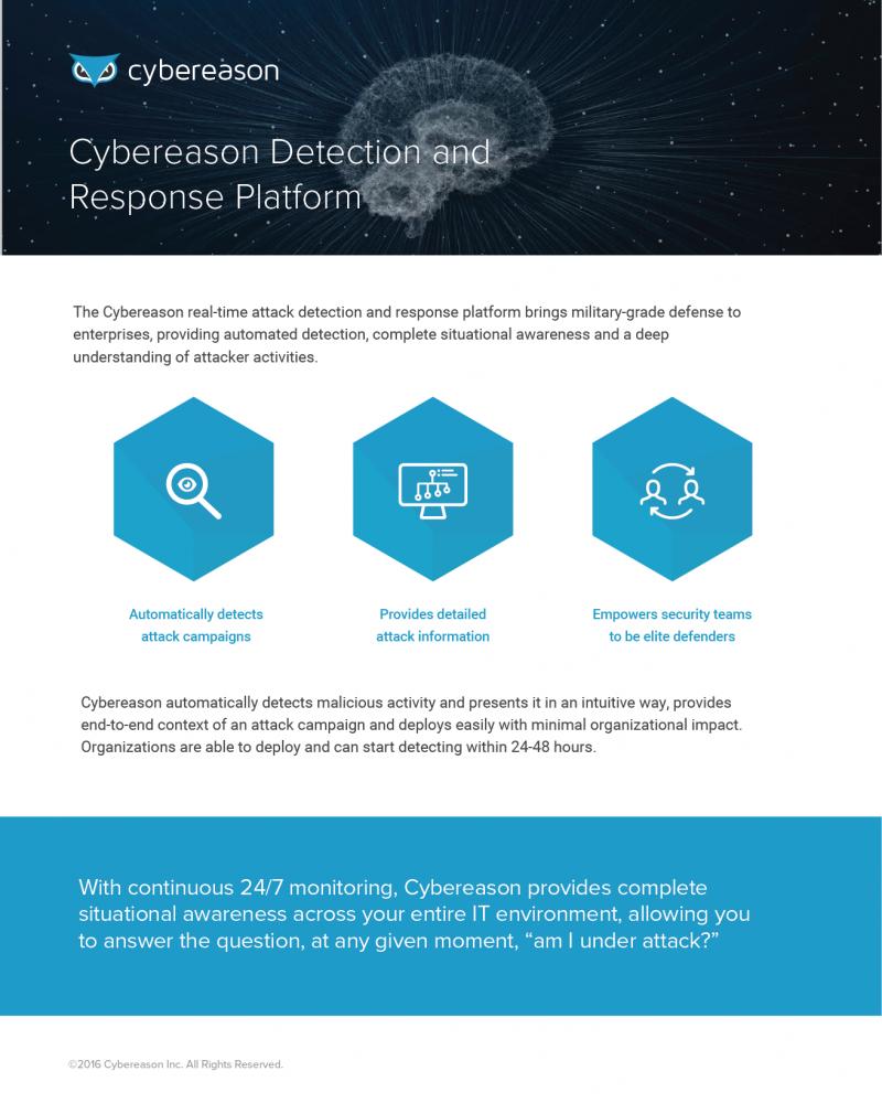 Cybereason Detection and Response Platform