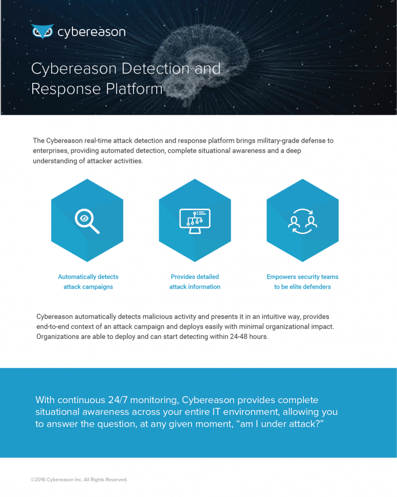 Cybereason Detection and Response Platform