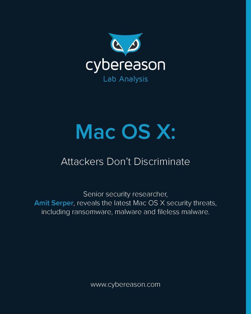Mac OS X: Attackers Don't Discriminate