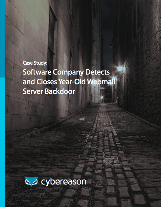 Software Company Detects & Closes Year-Old Webmail Server Backdoor