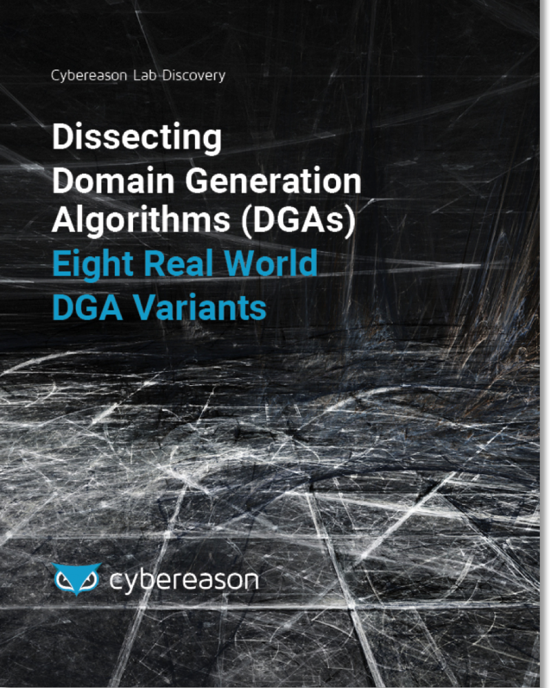 Dissecting Domain Generation Algorithms: Eight Real World DGA Variants