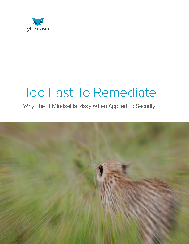 Too Fast To Remediate