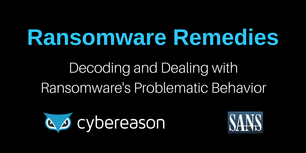 Ransomware Remedies: Decoding and Dealing with Ransomware's Problematic Behavior