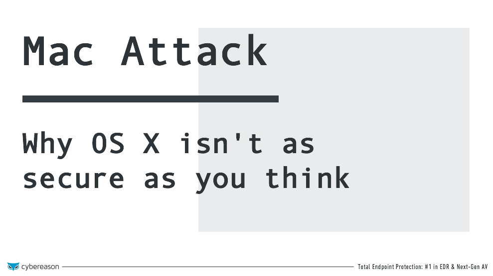 Mac Attack: Why OS X isn't as secure as you think