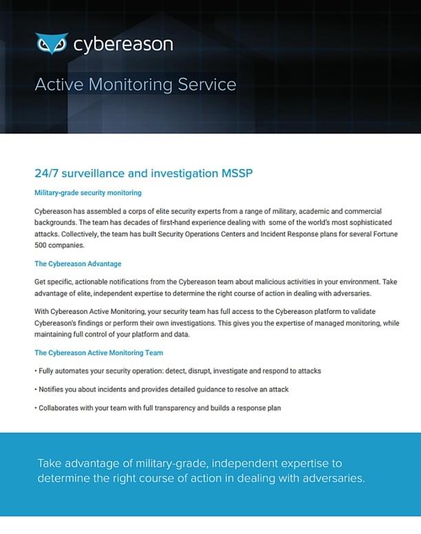 Active Monitoring Service