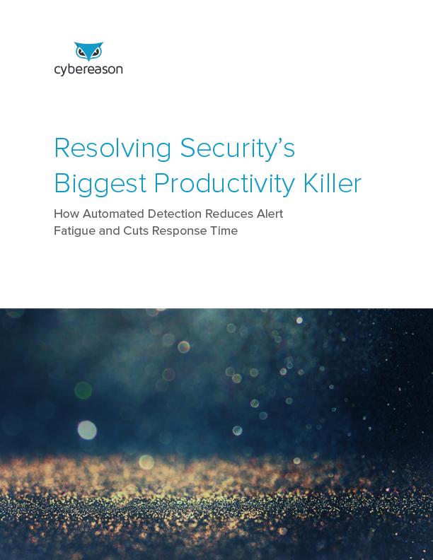Resolving Security's Biggest Productivity Killer