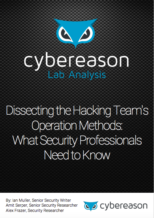 Dissecting the Hacking Team's Operation Methods