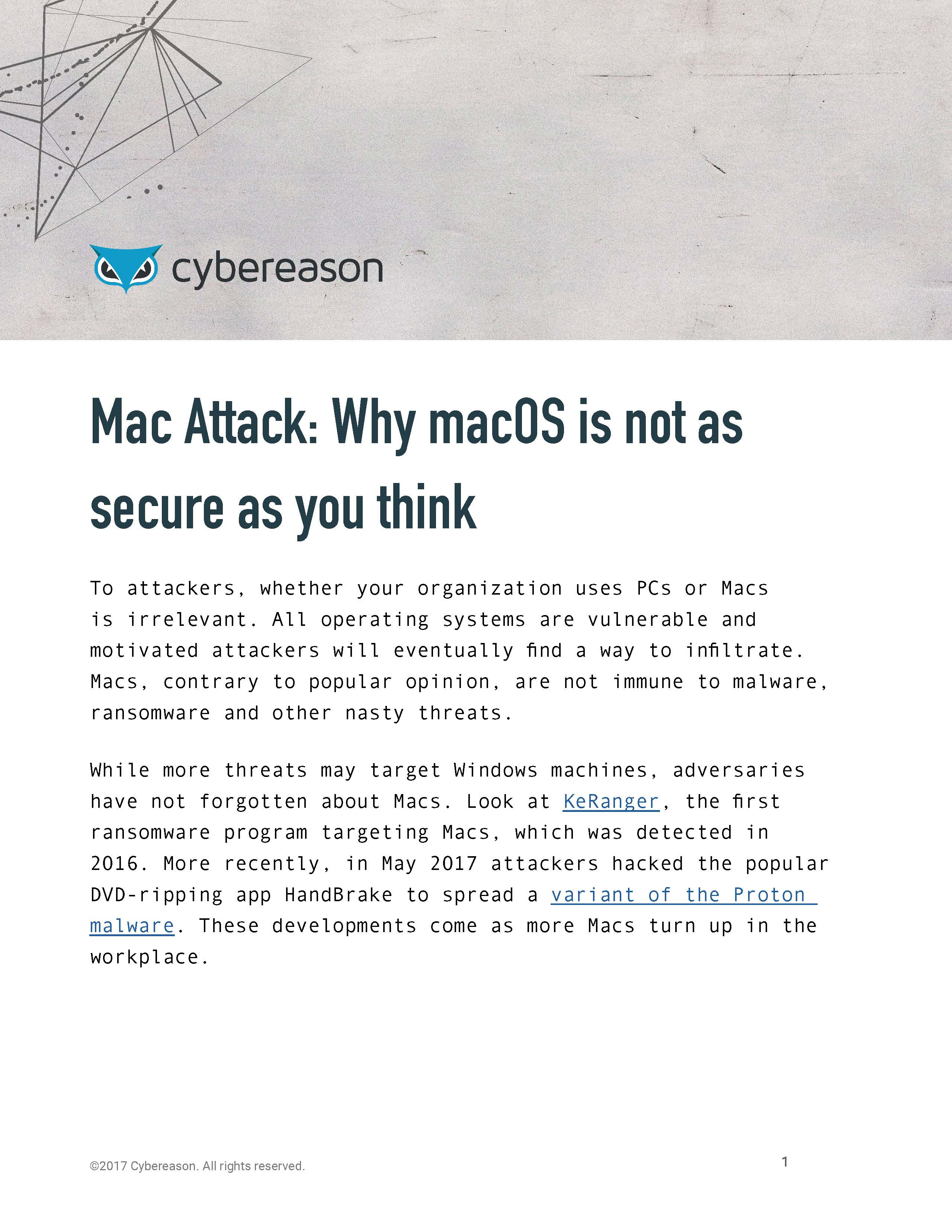 Mac Attack: Why macOS is not as secure as you think