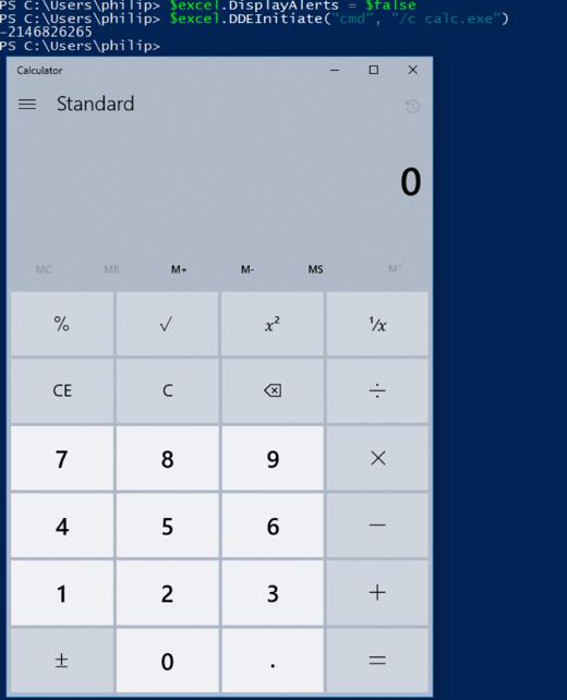 DisplayAlerts Calc