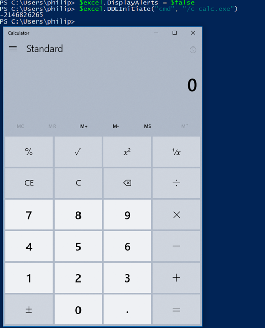 DisplayAlerts Calc