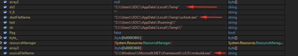 user's temp directory