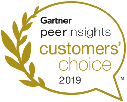 Gartner Peer Insights: Customers' Choice 2019