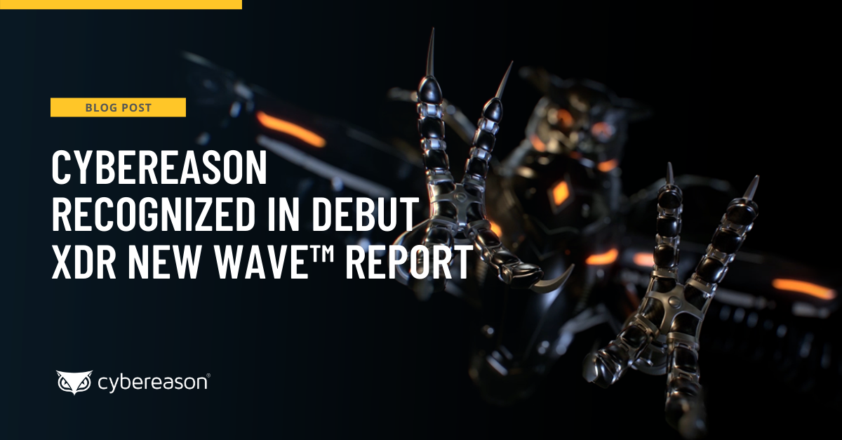 Cybereason Recognized in Debut XDR New Wave™ Report