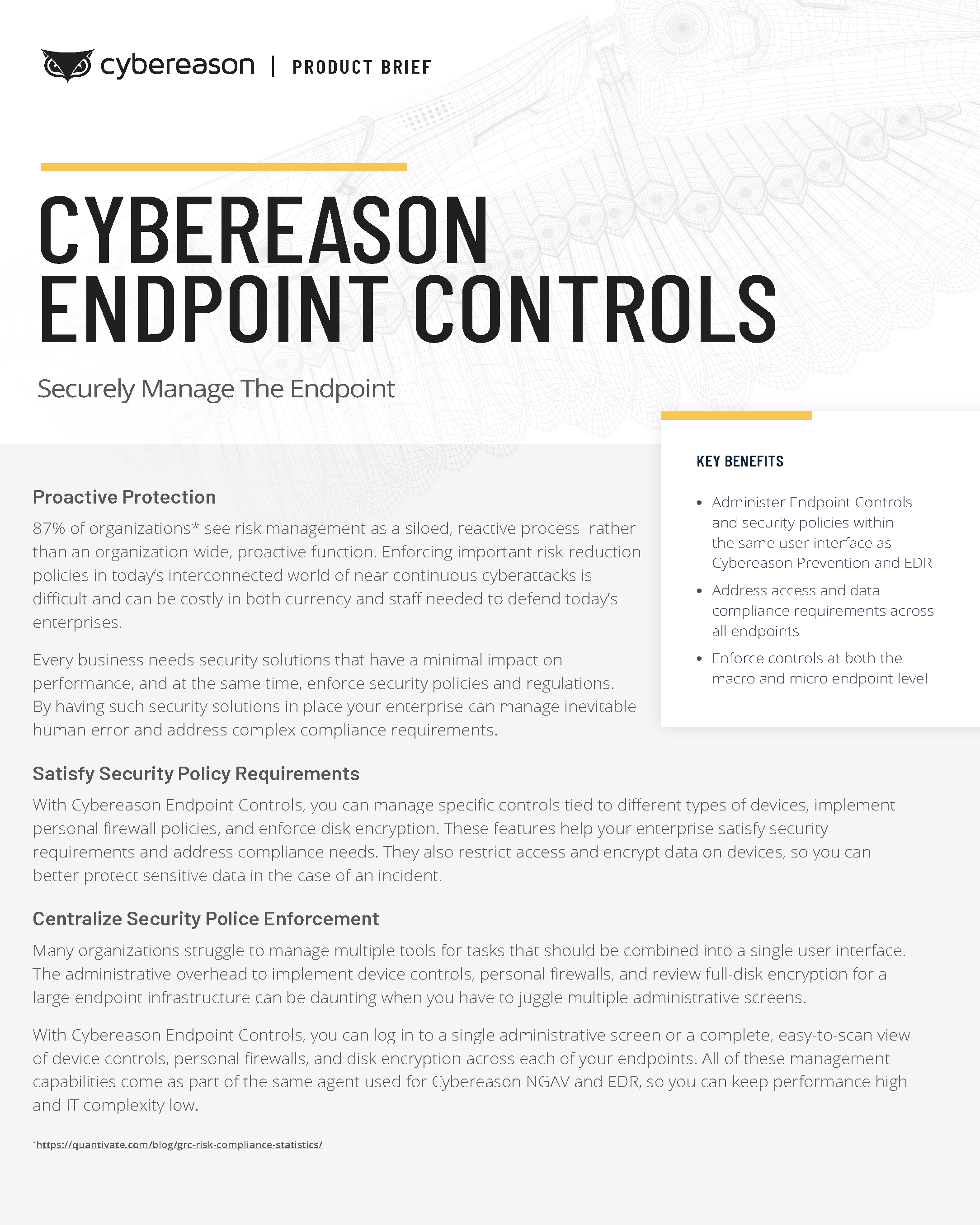 Endpoint Controls Datasheet